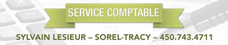 Service Comptable Sylvain Lesieur - Sorel-Tracy