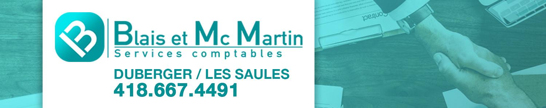 Les services comptables Blais et Mc Martin Inc.