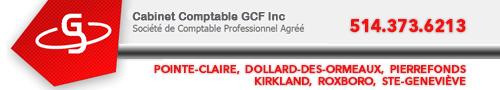Cabinet comptable GCF Inc.