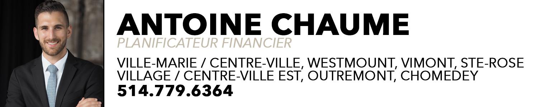 Antoine Chaume - Planificateur financier