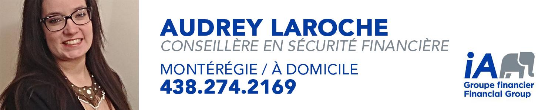 Audrey Laroche Conseillère en sécurité financière