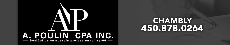 A.Poulin CPA Inc. comptable professionnel agréé