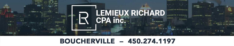 Lemieux Richard CPA Inc. - Comptables Professionnels Agréés