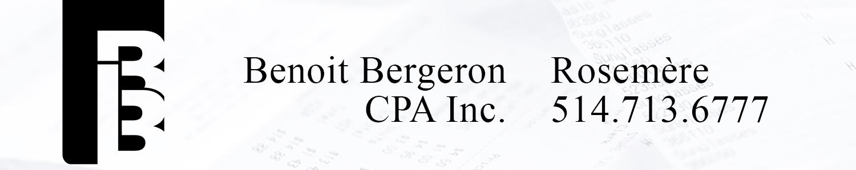 Benoit Bergeron CPA Inc.