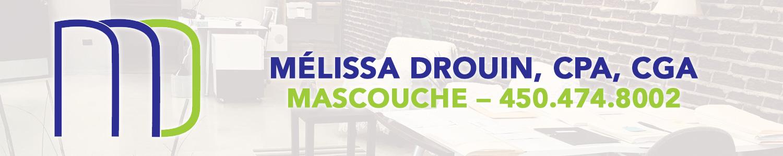 Mélissa Drouin comptable professionnel agréé
