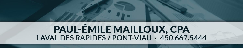 Paul-Émile Mailloux, CPA