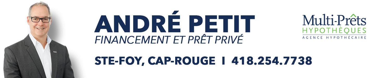 Financement et Prêt Privé hypothécaire André Petit