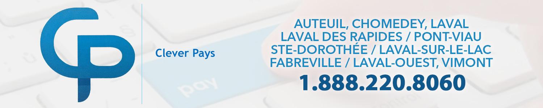CleverPays - Terminaux de paiements Laval