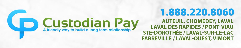 Custodianpay - Terminaux de paiements Laval